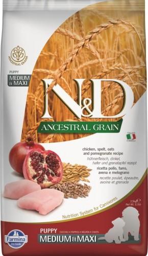 N&D Ancestral Dog Chicken & Pomegranate Puppy Medium & Maxi